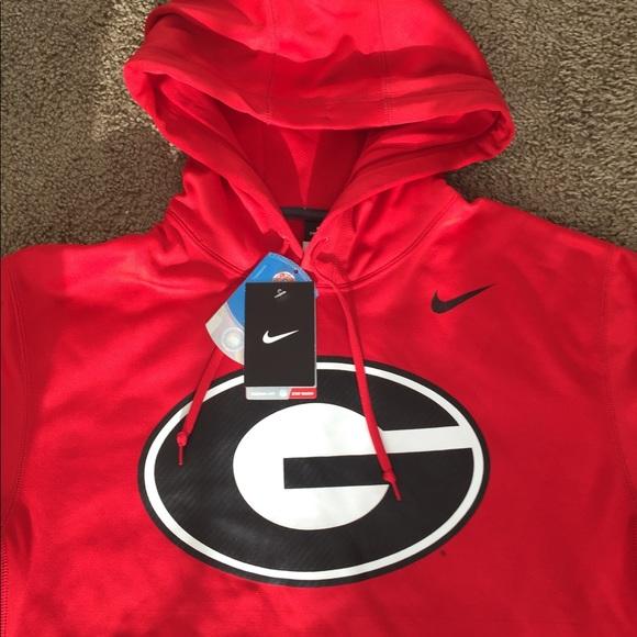 94e1467a NWT Mens Nike UGA Georgia Bulldog Sweatshirt NWT